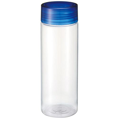 クリアキャップボトル 青