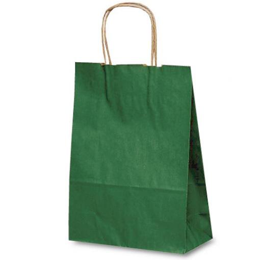 カジュアルクラフトバッグ A4 緑