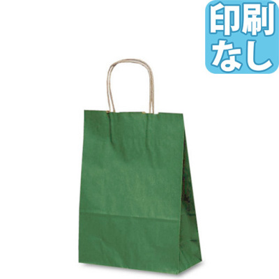 カジュアルクラフトバッグ A4 カラー 【印刷なし】