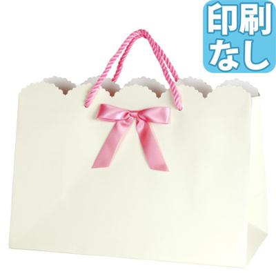 キュートリボンバッグ Lサイズ 【印刷なし】