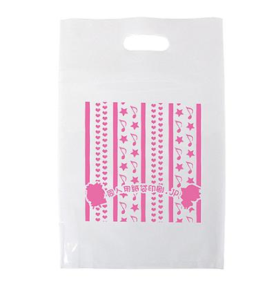 ポリ平袋(シルク印刷) A4