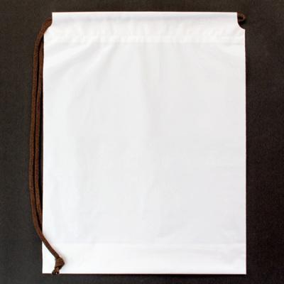 ポリバッグ(グラビア印刷)ショルダー中サイズ 乳白