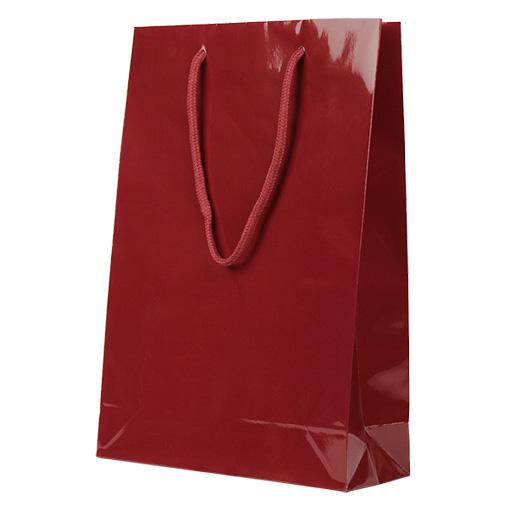 PPラミネートバッグ ワイン色